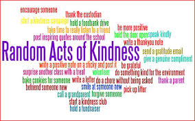 random acts of kindness week 2-14 to 2-20