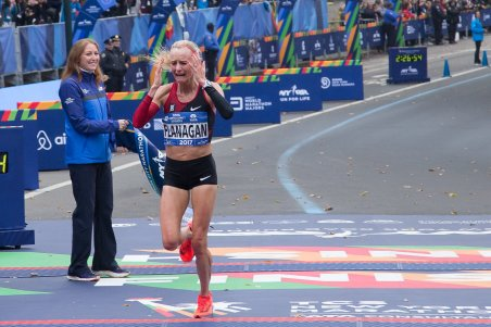 Flanagan- NYC marathon 2017 women's winner